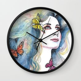In love with nature Wall Clock