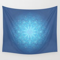 Enigma. Sacred geometry Wall Tapestry
