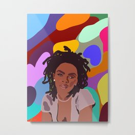 Ms. Lauryn Hill Metal Print