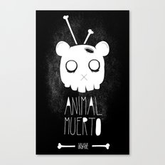 Animal Muerto Canvas Print