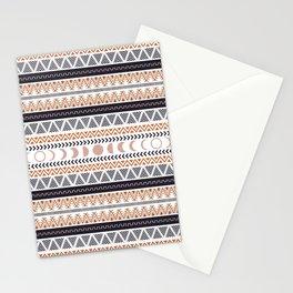Boho Tribal Pattern Stationery Cards