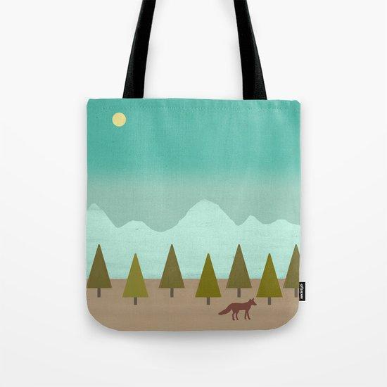 Evening Moon Tote Bag