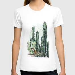 Cactus Long and a friend T-shirt