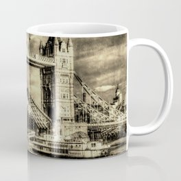 Tower Bridge and the Dixie Queen vintage Coffee Mug