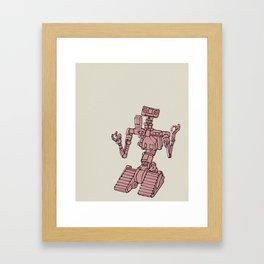 Johnny 5 Framed Art Print