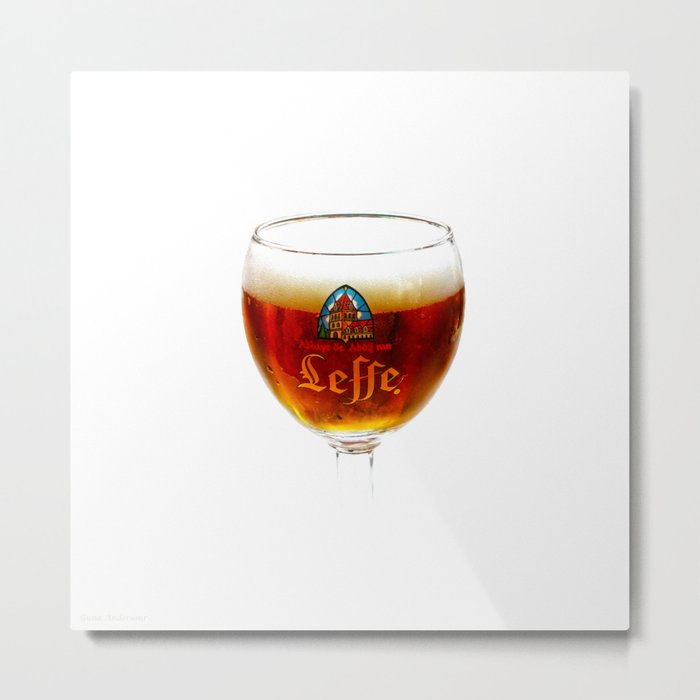 Beer from Belgium Metal Print