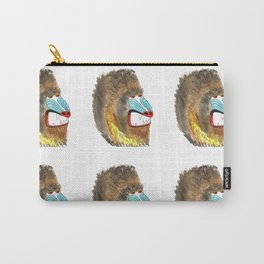 mean baboon pattern Carry-All Pouch