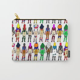 Superheroine Butts Carry-All Pouch