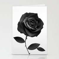 fabric Stationery Cards featuring Fabric Rose by Ruben Ireland