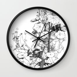 Fantin Latour tribute Wall Clock