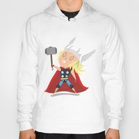 thor Hoodies featuring Thor by Rod Perich