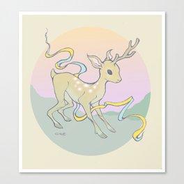 Unifawn (color) Canvas Print