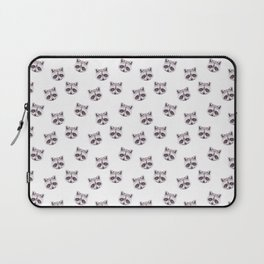 Raccoon Pattern, Cute Baby Animals, Woodland Nursery Kids Room Gifts  Laptop Sleeve