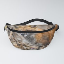 Red Foxy Fox Fanny Pack