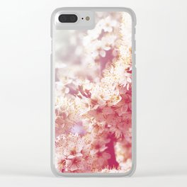 *Pinklight - Hawthorn Clear iPhone Case