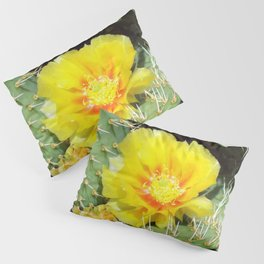 Prickly Yellow Beauty Pillow Sham
