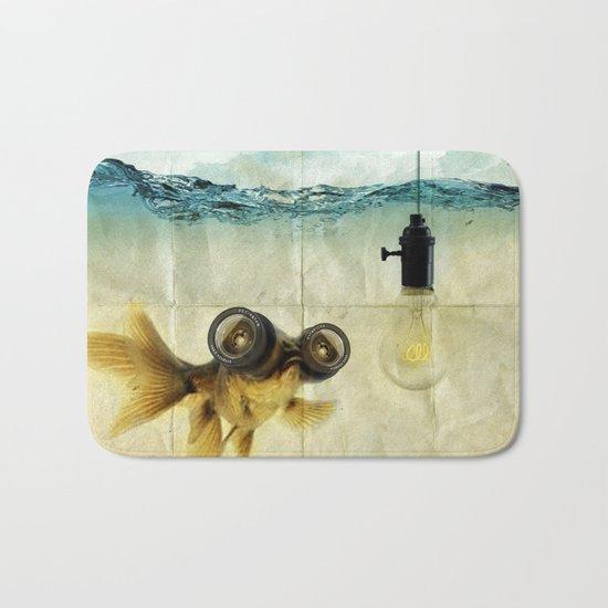 Fish Eyed Lens 03 Bath Mat