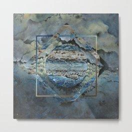 Jupiter Polyscape Metal Print
