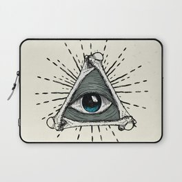 All Seeing Eye Laptop Sleeve