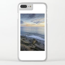 Ocean View from the Beach Clear iPhone Case