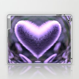 Sprouting Love (violet/green) Laptop & iPad Skin