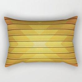 Fall Geometric Pattern Rectangular Pillow
