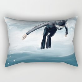 Breathe up Rectangular Pillow