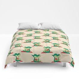 Acroyoga Avocado Comforters