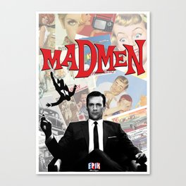 mr.draper Canvas Print