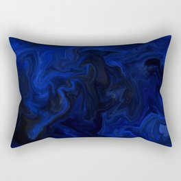 Indigo Flow Rectangular Pillow