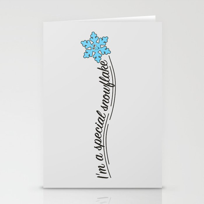 i m a special snowflake stationery cards by antiliberalart society6
