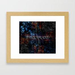 Firebrand Framed Art Print