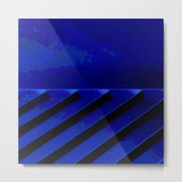 Kuhl's Kit Kat Klub: Blue Horizons Metal Print
