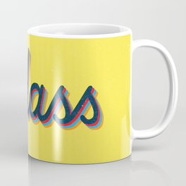 Badass - yellow version Coffee Mug