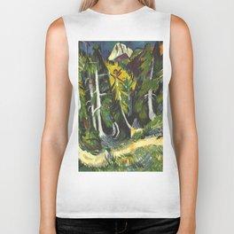 Ernst Ludwig Kirchner Forest Gorge at Staffel c1938 Biker Tank