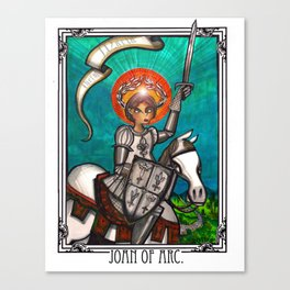 Joan of Arc Canvas Print