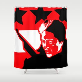 The Dead Zone Shower Curtain