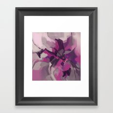 Single Lily Framed Art Print