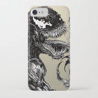 venom iPhone & iPod Cases featuring Venom by Dan Bingham