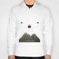 yeti Hoodies featuring Yeti by Artificial primate