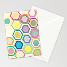Honeycomb Layers II Stationery Cards