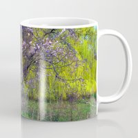 monet Mugs featuring influence: monet by EnglishRose23