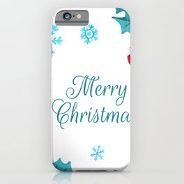 merry christmas to you iPhone Case