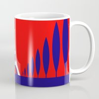 france Mugs featuring FRANCE by Marcus Wild