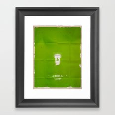 WEEDS Framed Art Print