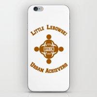 lebowski iPhone & iPod Skins featuring Little Lebowski Urban Achievers  |  The Big Lebowski by Silvio Ledbetter