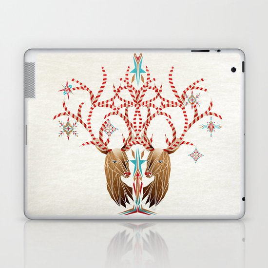 christmas deer Laptop & iPad Skin