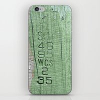 code iPhone & iPod Skins featuring Code  by Ethna Gillespie
