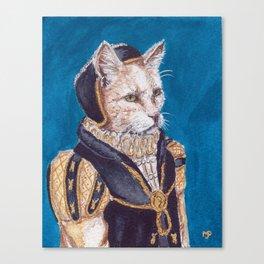 Lady Westy Canvas Print