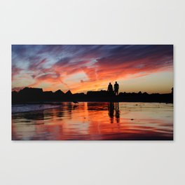 Sunset Boulevard  Canvas Print
